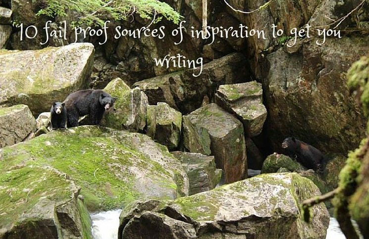 10 fail proof sources of inspiration to get you writing