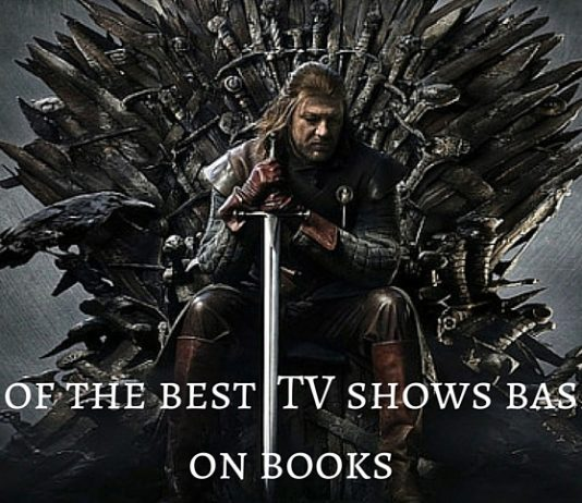 Television shows based on books Ned Stark sits on the iron throne