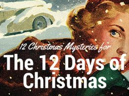 cover of big book of christmas mysteries