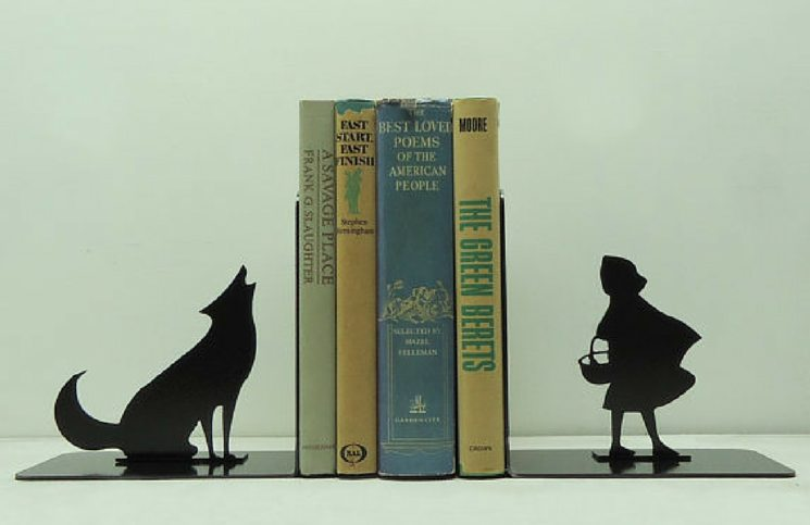 big bad wolf book ends