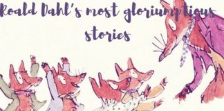 Fantastic Mr Fox and his fox children