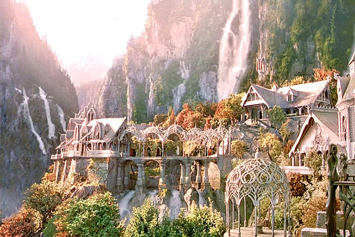 Rivendell from Lord of the Rings