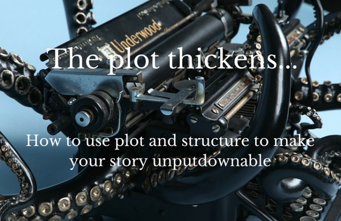 The plot thickens octopus typewriter