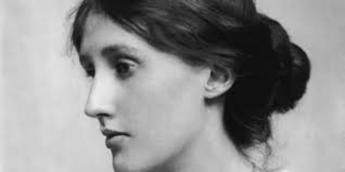 Virginia Woolf portait photograph head shot