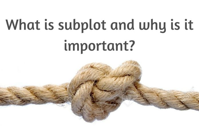 Rope as a metaphor for narrative and why subplots are important