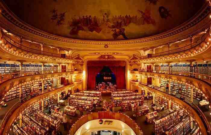 book shop in theatre Buenos Aires